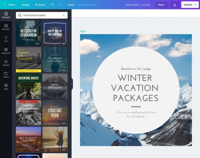 Ontwerpen met de gratis software van Canva